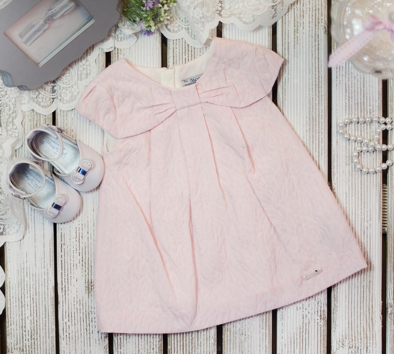 Sukienka różowa z kokardką. Kupisz w Abrakadabra!