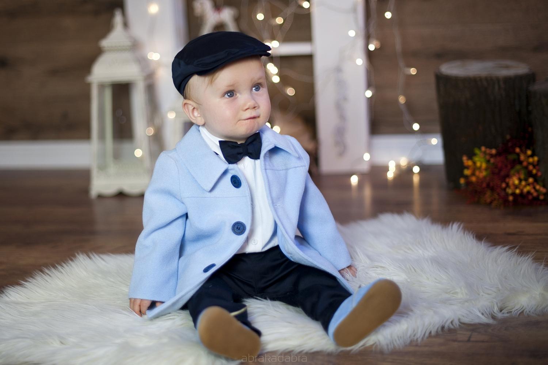 Niebieski płaszczyk dla chłopca. Kupisz w Abrakadabra!